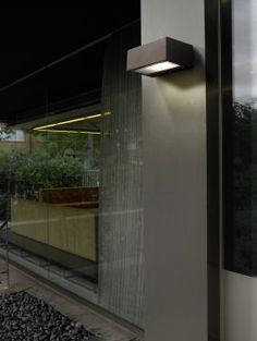 Small Modern External Wall Light - Colour Options ID Large View