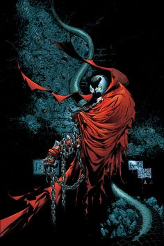 Spawn 149 cover by Greg Capullo