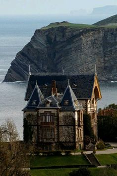 The home of the Duke of Almodovar del Rio in Comillas, Spain