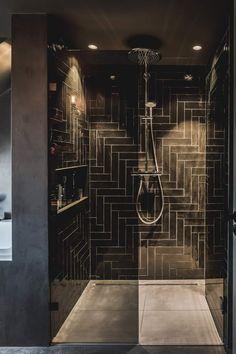 Top Ideas For Tiny Bathroom Paint Colors Small Rooms Serene Bathroom, Beautiful Bathrooms, Modern Bathroom, Master Bathroom, Small Bathroom Paint Colors, Tadelakt, New Toilet, Upstairs Bathrooms, Bathroom Doors