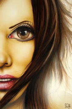 """Kawena"" by Scott Rohlfs Avatar Picture, Human Art, Beauty Art, Anime Art Girl, Portrait Art, Female Art, Amazing Art, Awesome, Cute Art"