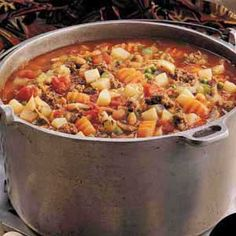 Creole Soup Recipe -Special seasonings set this flavorful soup apart from any others Ive tried. It makes a nice big batch, so its perfect when feeding a crowd. Plus, leftovers freeze well. Creole Recipes, Cajun Recipes, Cooking Recipes, Healthy Recipes, Crockpot Recipes, Creole Cooking, Cajun Cooking, Cajun Food, French Nails