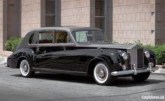 1962 Rolls-Royce Phantom V Seven-Passenger Limousine