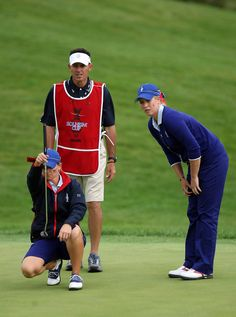 Kristy Mcpherson & Brittany Lincicome- The Solheim Cup - Day One #SC13 #GoUSA