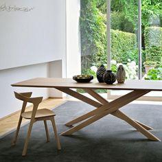 Ethnicraft Oak Mikado Dining Table Rectangular Scandinavian