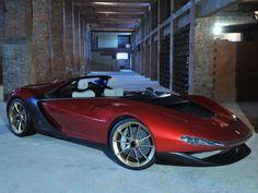Pininfarina Sergio concept roadster