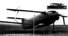 Gérin 1936 Varivol biplane: Variable geometry wing French research airplane : WeirdWings