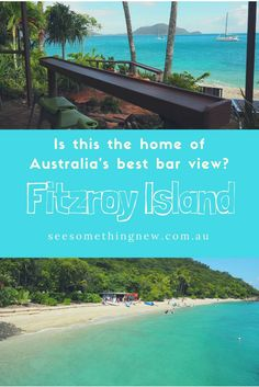 Fitzroy Island off the coast of Cairns in Queensland may just be the home of Australia's best bar view! What do you think?