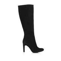 KACHOROVSKA / black suede boots