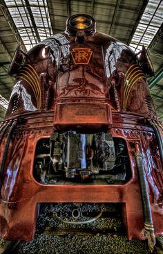 | E-7 Locomotive Pennsylvania Railroad Museum