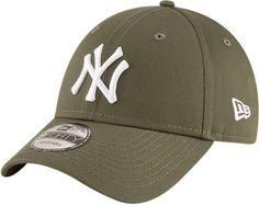 NY Yankees New Era 940 League Essential Olive Green Baseball Cap f380278d1003
