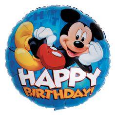 Disney Mickey Happy Birthday Foil Balloon, 66964