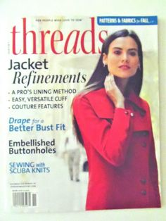 #ad Threads Magazine Taunton Press For People Who Love to Sew November 2016 http://rover.ebay.com/rover/1/711-53200-19255-0/1?ff3=2&toolid=10039&campid=5337950191&item=163001162072&vectorid=229466&lgeo=1