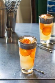 Sparkling Yuzu Lemongrass Lemonade Cocktails: Vodka, Lemongrass Simple Syrup (recipe), Tangerine Juice, Yuzu Juice, Tangerine Slices, Club Soda.