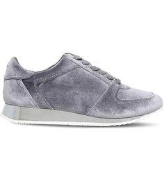 CARVELA - Languid metallic velvet trainers | Selfridges.com