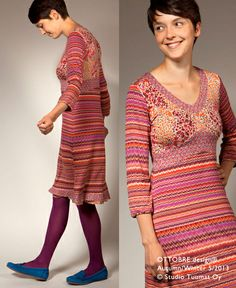 Oh oh - I love that dress from the latest Ottobre women. Not so much the colours but the pattern ist totally me. ;)