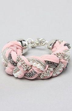 pulseiras rosa