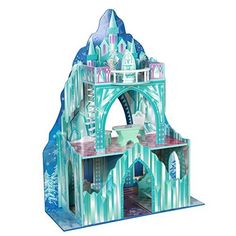 Teamson Kids - Ice Castle Wooden Doll House with 7 pcs Furniture for 12 inch Dolls, http://www.amazon.com/dp/B00NYN8PBQ/ref=cm_sw_r_pi_n_awdm_BHCHxb0FG5R04