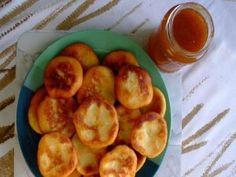 Krumplipogácsa European Cuisine, Hungarian Recipes, Bread And Pastries, Pretzel Bites, Scones, Cake Recipes, Cooking Recipes, Potatoes, Vegetarian