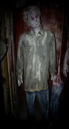 Frozen Hanging Male Halloween Prop