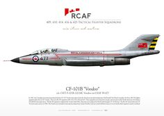 ROYAL CANADIAN AIR FORCE 409, 410, 414, 416 and 425 Tactical Fighter Squadron Military Jets, Military Aircraft, Le Mirage, Canadian Army, Aircraft Photos, Military Pictures, Truck Art, Aviation Art, Cutaway
