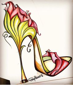 1000+ ideas about Fashion Illustration Shoes on Pinterest | Shoe ...