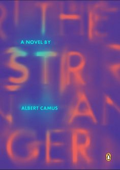 Albert Camus - The Stranger Book Covers on Behance Graphic Design Posters, Graphic Design Typography, Typographic Design, Graphic Design Inspiration, Graphisches Design, Layout Design, Print Design, Typography Letters, Typography Poster