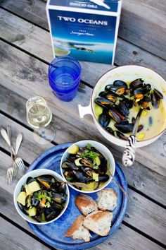 Food styling, south africa, two oceans, mussels