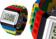 JC/DC Pop Hours LEGO Digital Watch  from kidcrave.com