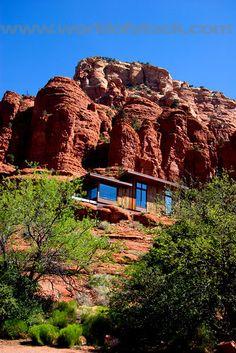 Stock Photo titled: Desert Homes, Sedona, Arizona., unlicensed use prohibited