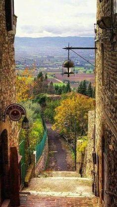 Asís, Umbría, Italia
