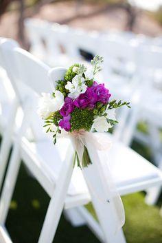 Flower Aisle Decor