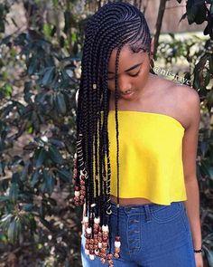 25 Trendy Ways to Rock African Braids