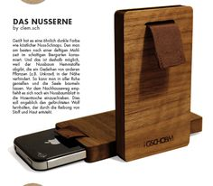 Fabulous iphone 5 woodcase by clem. sch. Just got one!