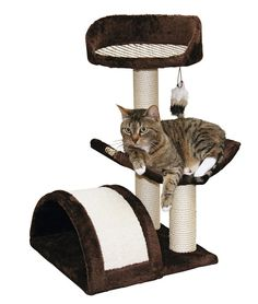 Cat Tree With Scratching Post and Board