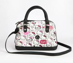 Hello Kitty Satchel: Artistic Print