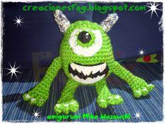 creaciones FOG: AMIGURUMI MIKE WAZOWSKI
