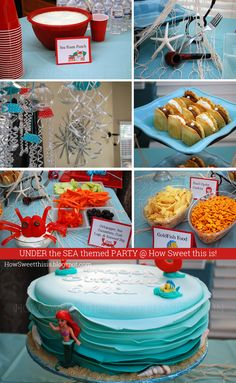 Under the Sea Themed / Little Mermaid Party!