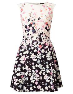 Poppy Print Mini Skater Dress by Lipsy White Skater Dresses, Mini Skater Dress, White Dress, Lipsy Dresses, Day Dresses, Formal Dresses, Poppy Dress, Poppies, Clothes For Women