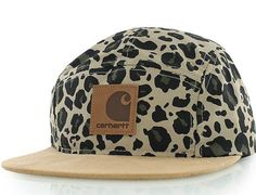 1a1bc7ef1c17f Leopard 5-Panel Hat by CARHARTT x STARTER