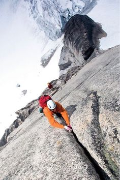 Snowpatch Spire in British Columbia's Bugaboo Rock Climbing Workout, Sport Climbing, Ice Climbing, Mountain Climbing, Climbing Holds, Bouldering Wall, Outside Magazine, Escalade, Parkour