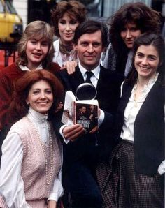 With women from some of the episodes of SH: I love seeing Gayle Hunnicutt (Irene Adler) front and center!