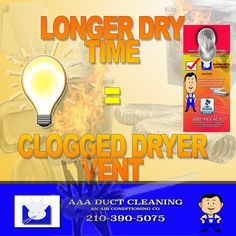 Clean Dryer Vent, Vent Cleaning, San Antonio