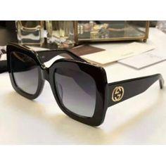 effa60ba2025a Óculos de Sol GUCCI GG 0083S - Preto