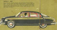 Reklama Mototechna - Tatra 603