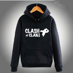 XXXL COC Clash of Clans sweatshirt for teens fleece hoody