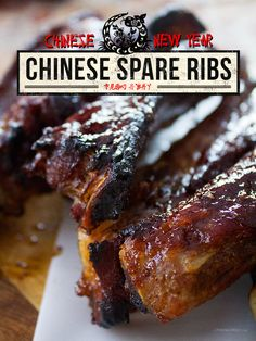 Chinese Spare Ribs ~ Adapted from a recipe by Serious Eats