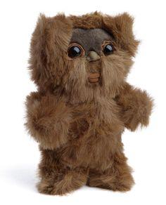 Vintage Reproduction Plush Ewok. I NEED A PLUSH EWOK IN MY LIFE.