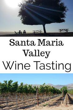 Santa Maria Valley Wine Tasting in the Central Coast of California