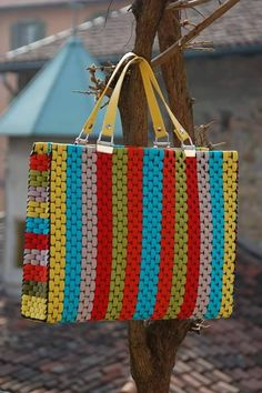 Discover thousands of images about canvas bag models - Stacha Styles Plastic Canvas Stitches, Plastic Canvas Crafts, Plastic Canvas Patterns, Potli Bags, Canvas Purse, Embroidery Bags, Net Bag, Beaded Bags, Fabric Bags